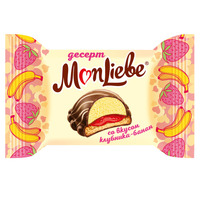 Dessert «MonLiebe» with strawberry-banana flavor