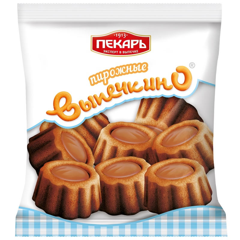 Biscuit cake «Vypechkino» boiled condensed milk